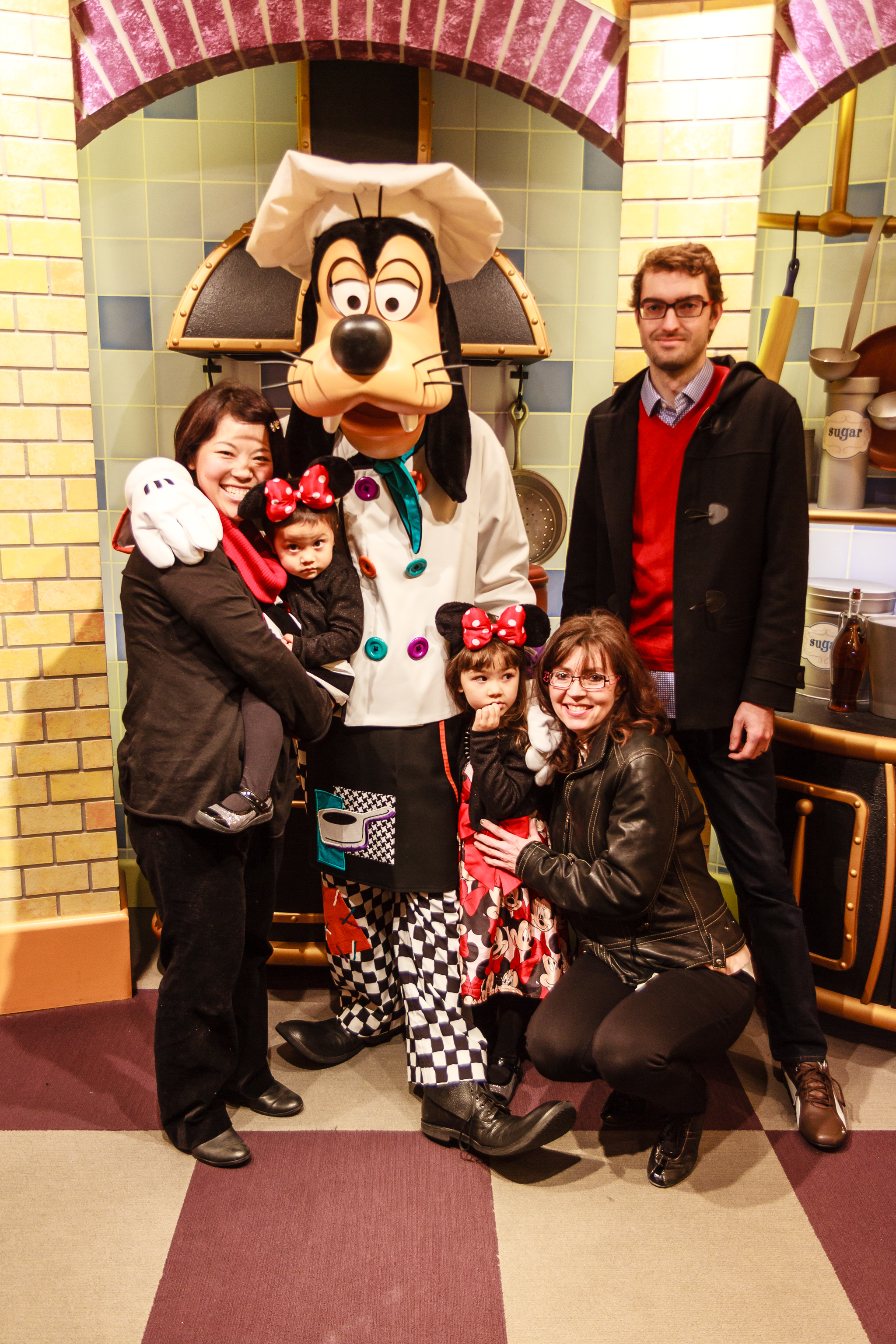 New Year S Eve Goofy S Kitchen At Disneyland Creations Of